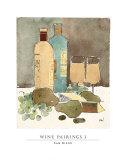 Emparejamiento de vino I Pósters por Sam Dixon