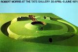 Observatory Earthwork: Project For Sousbeek 71, Arnhem Poster por Robert Morris