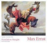 熾天使, 1937 コレクターズプリント : マックス・エルンスト