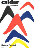 Stabiles, 1971 Posters av Alexander Calder
