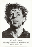 Large Phil Fingerprint, 1979 Keräilyvedos tekijänä Chuck Close