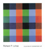 9 x 4 Farborte Poster af Richard P. Lohse