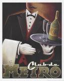 Club de Metro Print van Michael L. Kungl