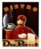 Bistro DuPont Kunstdrucke von Michael L. Kungl