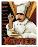 Brasserie de Xavier Kunstdrucke von Michael L. Kungl