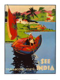 See India,1938 Posters by Dorothy Newsome