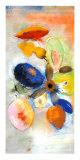 Fleurs Plakat af Odilon Redon