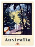Australia Queensland Rain Forest Giclee Print