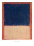 ナンバー 203 1954年 (No. 203) ポスター : マーク・ロスコ