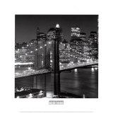 Pont de Brooklyn, New York Posters par Henri Silberman