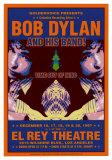 Bob Dylan - At The El Rey Poster von Dennis Loren