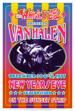 Van Halen at the Whiskey A-Go-Go Stampe di Dennis Loren