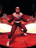 The Amazing Spider-Man No.572 Cover: Bullseye Plastskylt av John Romita Jr.