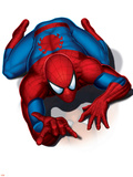 Spider-Man Crawling Plastic Sign
