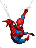 Spider-Man Swinging Wall Decal