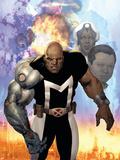 X-Men: The Times And Life Of Lucas Bishop No.1 Cover: Bishop Plastikskilt af Ariel Olivetti