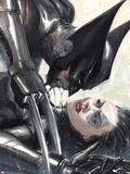 X-Force: Sex and Violence No.2 Cover: Wolverine and Domino Signe en plastique rigide par Gabriele DellOtto
