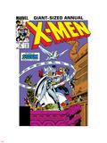 X-Men Annual No.9 Cover: Storm and Colossus Placa de plástico por Arthur Adams