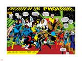 Phoenix: The Untold Story No.1 Group: Storm Plastskilt av John Byrne