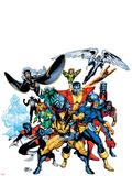 Marvel Legends: Arthur Adams TPB Cover: Wolverine Placa de plástico por Arthur Adams