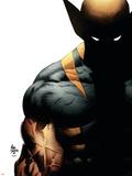 Wolverine: Origins No.28 Cover: Wolverine Targa di plastica di Mike Deodato