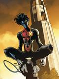 X-Men: Manifest Destiny No.4 Cover: Nightcrawler Plastskilt av Humberto Ramos