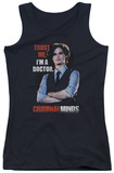 Juniors Tank Top: Criminal Minds - Trust Me Womens Tank Tops