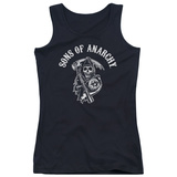 Juniors Tank Top: Sons Of Anarchy - Soa Reaper Womens Tank Tops