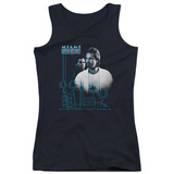 Juniors Tank Top: Miami Vice - Looking Out Womens Tank Tops