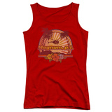 Juniors Tank Top: Magnum PI - Hawaiian Sunset Womens Tank Tops