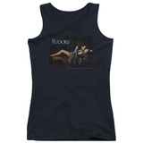 Juniors Tank Top: Tudors - The King And His Queen Tank Top