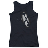 Juniors Tank Top: X Files - Spotlight Logo Tank Top