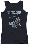 Juniors Tank Top: Falling Skies - Battle Or Become Womens Tank Tops