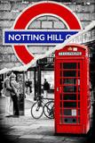 Dual Torn Posters Series - London Fototapete von Philippe Hugonnard