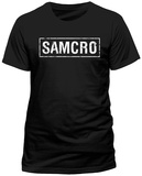 Sons Of Anarchy - Samcro Banner T-Shirts