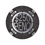 Pokerchip $250, 2015 Giclee-trykk av Francois Domain