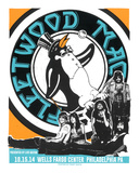 Fleetwood Mac Philly Serigraph by  Print Mafia