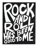 Rock N Roll 2015 Serigraph by  Print Mafia