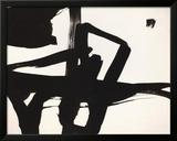 Untitled, 1950 Impressão giclée emoldurada por Franz Kline
