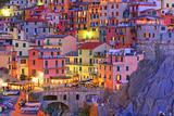 Manarola, Cinque Terre, Italy Fotografisk tryk af  TessarTheTegu
