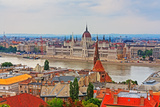Budapest View of the Parliament Hdr Photographic Print by  alexvav