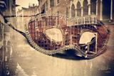 Carnival of Venice, Double Exposure Fotografie-Druck von  nito