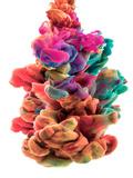 Colorful Color Drop Photographic Print by  sanjanjam