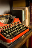 Antique Typewriter Fotografisk trykk av  EvanTravels