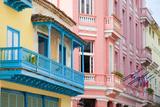 Old Havana, Cuba Fotoprint av Charlie Rosenberg