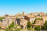 Forum Romanum in Rome Italy Photographic Print by  Marcus