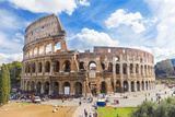Colosseum in Rome, Italy Photographic Print by Alexandr Ozerov