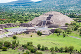 Pyramid of the Moon, Teotihuacan Reproduction photographique par  lduarte