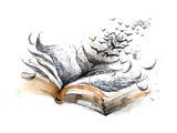 Ancient Book Giclee Print by  okalinichenko