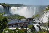 Garganta Del Diablo at the Iguazu Falls Fotoprint av Fabio Lotti